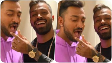 Hardik Pandya Flaunts Rolex Daytona 18-Carat Yellow Gold Cosmograph 40 Watch Worth Over One Crore In Latest Snap With Krunal Pandya!