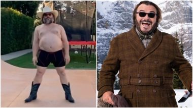 Jack Black Makes A Fabulous Tiktok Debut Dancing Shirtless In Cowboy Boots (Watch Video)