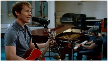 James Blunt Jokes That He's Doing Us All a Favour by Not Holding a Mini-Concert During COVID-19 Lockdown