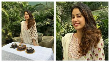 Janhvi Kapoor Celebrates Her 23rd Birthday With the Paparazzi! How Cute (Watch Video)