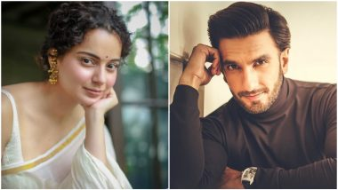 Kangana Ranaut Pitches 'A Star Is Born' Kind of Movie With Ranveer Singh and We Are on Board