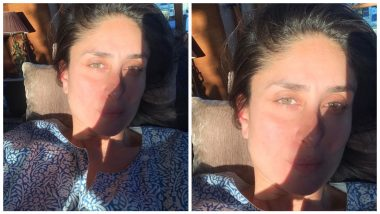 Kareena Kapoor Khan Shares Her 'Sun Kissed' Selfie, Says 'Girls Just Wanna Have Sun' (See Pic)