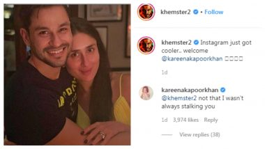 Kunal Kemmu Welcomes Kareena Kapoor Khan On Instagram, She Confirms That She Was Always There (See Pic)