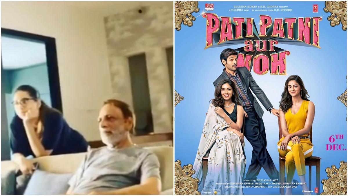 Kartik Aaryan Shares His Parents' Reaction As They Watch Pati Patni Aur Woh