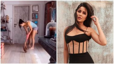 Katrina Kaif Brooms the Floor Wearing Tank Top and Shorts And, Well, That's Something We Never Thought We'd See (Watch Video)