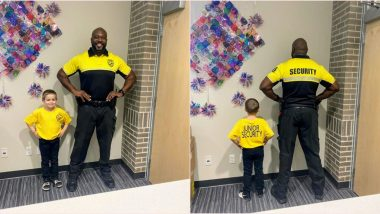 Boy Dresses As School's Security Officer for 'Dress As Your Favourite Person Day,' Viral Post Wins Hearts Online