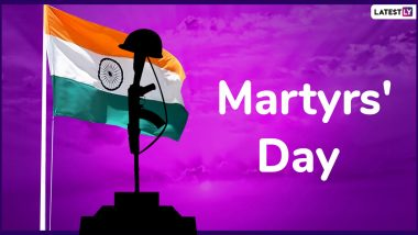 Martyrs' Day 2020 Wishes: WhatsApp Messages, SMS, Status, Pics And Quotes to Remember Martyrdom of Bhagat Singh, Rajguru And Sukhdev