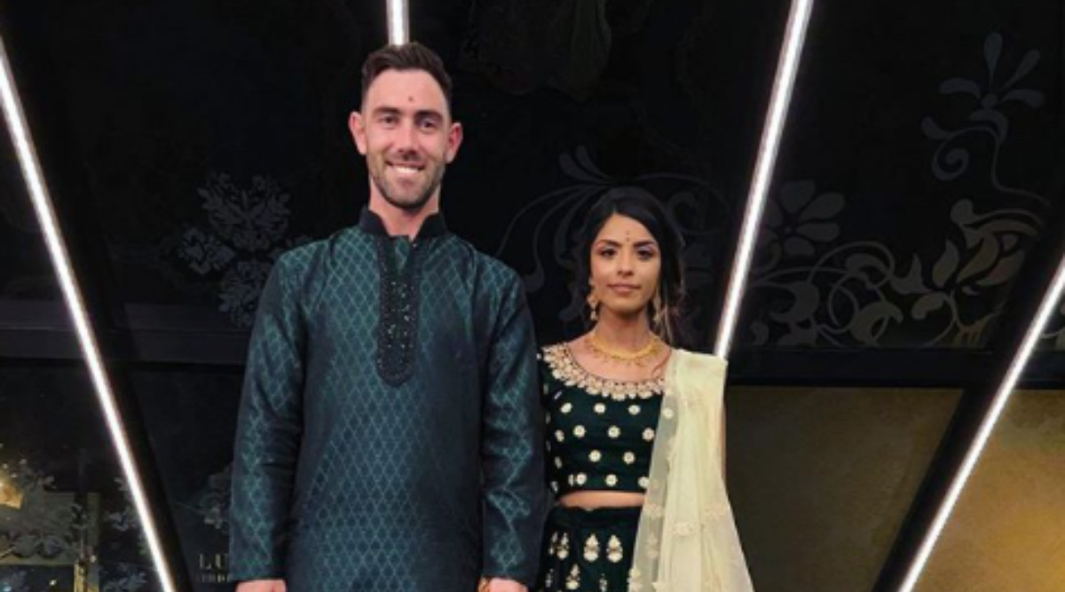 Glenn Maxwell and Fiancee Vini Raman Celebrate Engagement in Indian Style, View Pic