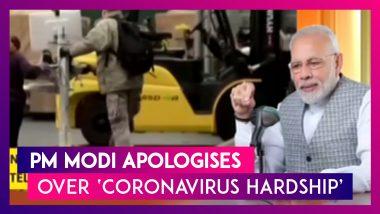 PM Narendra Modi Apologises For 'Hardship' Due To Lockdown, During His Mann Ki Baat Address