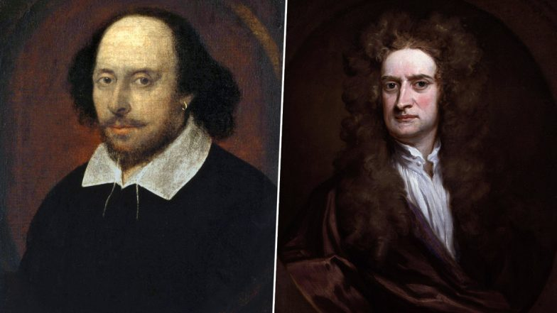 How William Shakespeare and Issac Newton Utilized Their Time Working From Home During Quarantine and Pandemic