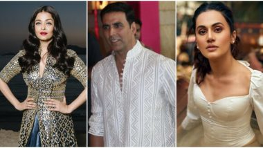 Holi 2020: Aishwarya Rai Bachchan, Akshay Kumar, Taapsee Pannu and Other Bollywood Stars Extend Wishes to Fans!