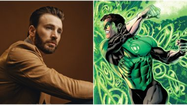 Captain America Star Chris Evan to Join DC as Green Lantern?