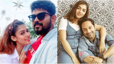 Nayanthara – Vignesh Shivan and Nazriya Nazim – Fahadh Faasil Attempt the Gesture Challenge on TikTok During Quarantine, and They're Clearly Enjoying It! Watch Video