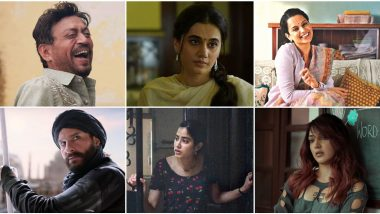 Bollywood 2020: Kangana Ranaut in Panga, Taapsee Pannu in Thappad, Irrfan Khan in Angrezi Medium and More – 15 Best Performances in the First Quarter