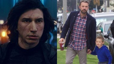 Ben Affleck's Son Samuel Is a Huge Kylo Ren Fan and the Star Wars Actor Adam Driver Had the Best Birthday Surprise For Him