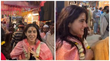 So Cool! Sara Ali Khan Shows Around the Busy Streets of Varanasi Without the Fear of Being Recognised