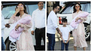 Shilpa Shetty and Raj Kundra Bring Their Newborn Daughter Samisha Home (See Pics)