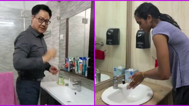 PV Sindhu Takes WHO's #SafeHands Challenge; Nominates Virat Kohli, Sania Mirza and Kiren Rijiju As Coronavirus Fears Grow