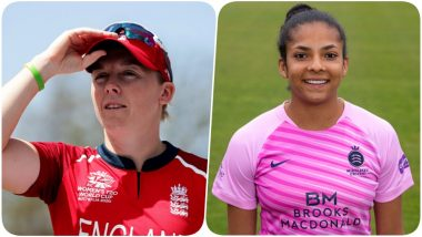 England Cricketers Heather Knight and Sophia Dunkley Sign Up to the NHS Volunteer Responders Scheme Amid Coronavirus Crisis