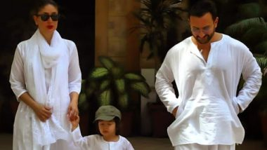 Taimur, Kareena Kapoor And Saif Ali Khan Get Ready For Holi Party Dressed In Whites (Watch Video)