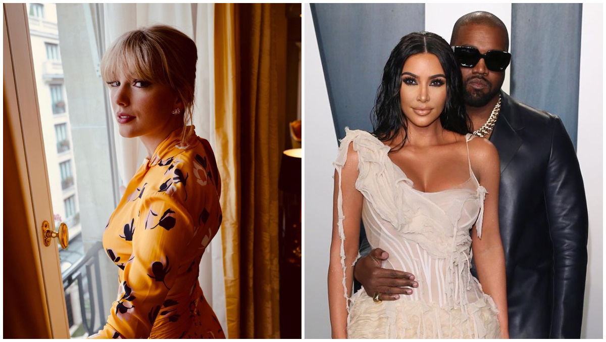 Kim Kardashian and Taylor Swift Finally React to That 'Famous' Leaked Phone Conversation With Kanye West