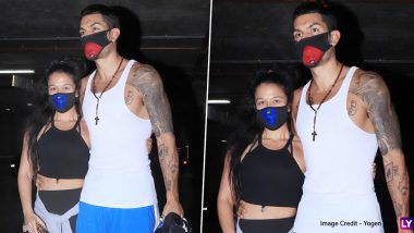 Krishna Shroff Spotted with Boyfriend Eban Hyams at the Mumbai Airport! Couple Sports Face Masks Amid Coronavirus Outbreak (View Pics)