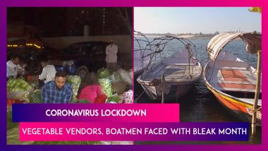 Lockdown Hurting Daily-wage Earners - From Vegetable Sellers In Delhi To Boatmen In Prayagraj