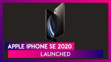Apple iPhone SE 2020 With A 12MP Rear Camera Launched In India; Check Prices, Variants, Features & Specifications