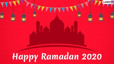 Good Morning Ramadan 2020 Wishes and Greetings: WhatsApp Stickers, Ramazan Kareem Facebook Messages and GIF Images to Send on the First Day of Ramzan