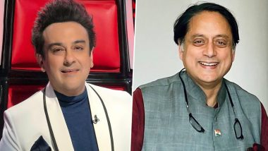 Adnan Sami and Shashi Tharoor Have a Twitter Banter Over PM Modi's 'Shut the Lights' Move; Congress MP Has A Quirky Response to the Singer Asking Him to 'Chill'!