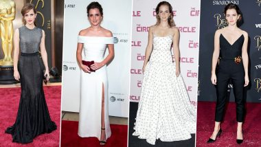 Emma Watson Birthday Special: Here's Taking a Look at the Way She Dresses to Express and Not Impress (View Pics)