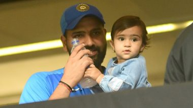 Rohit Sharma Wishes Daughter Samaira on Her Birthday, Shares Adorable Pictures of the Two-Year-Old