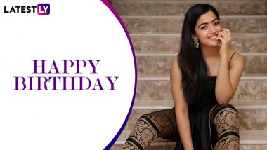 Happy Birthday, Rashmika Mandanna! Fans Pour in Wishes for the South Actress on Twitter