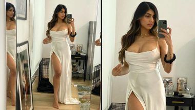 Mia Khalifa Shares Picture in a High-Slit Wedding Dress With an Emotional Post About the Worst Pandemic Fears