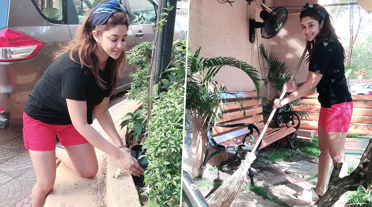 Payal Ghosh Makes the Most of Her Lockdown Time Engaging in This Pastime (View Pics)
