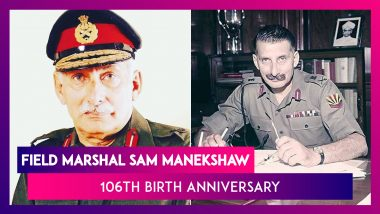 Field Marshal Sam Manekshaw 106th Birth Anniversary: Remembering Him With Memorable Quotes