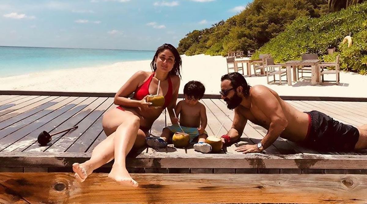 Kareena Kapoor Khan's Throwback Holiday Picture with Taimur and Saif Ali Khan is Making us Say 'So Hot and So Cute' Both at Once!