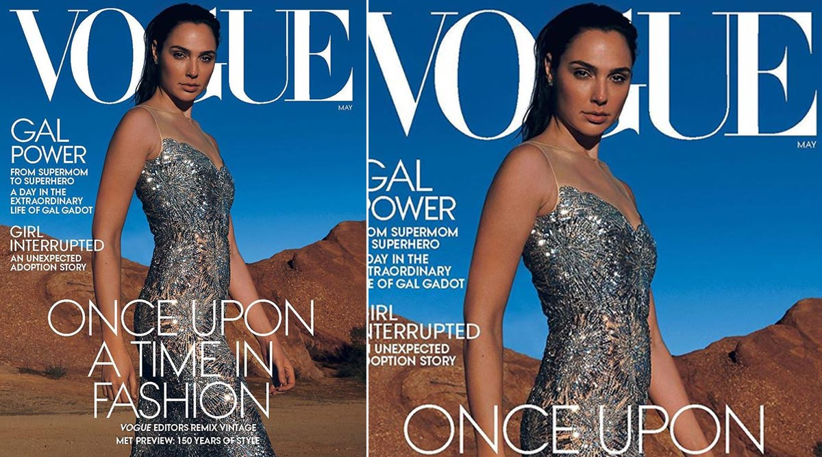 Gal Gadot is Sparkling Brilliantly on the Cover of Vogue (View Pic)