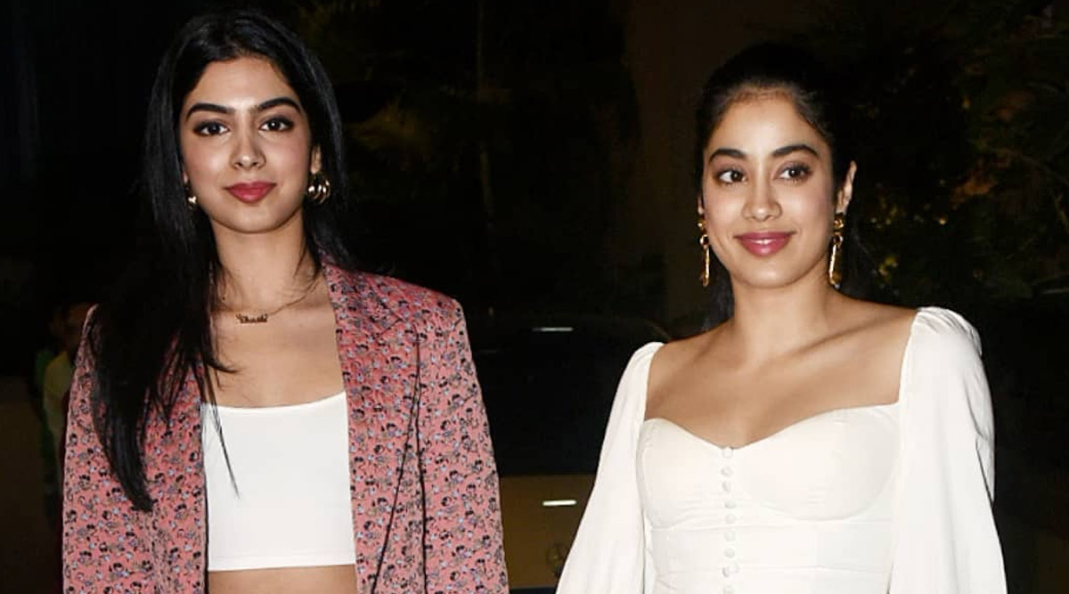 Janhvi Kapoor Gets Her Hair Done by Sis Khushi Amid COVID-19 Lockdown