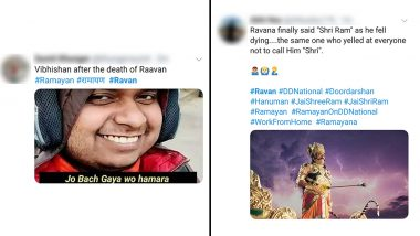 Twitterati Celebrates Ravana's Death Episode with Funny Memes and Jokes, and It Is Dussehra All over Again for the Fans of Ramanand Sagar's Ramayan