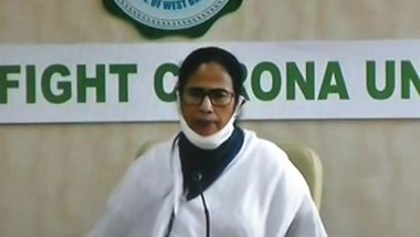 West Bengal CM Mamata Banerjee Announces Govt Job to Kin of Deceased COVID-19 Warriors