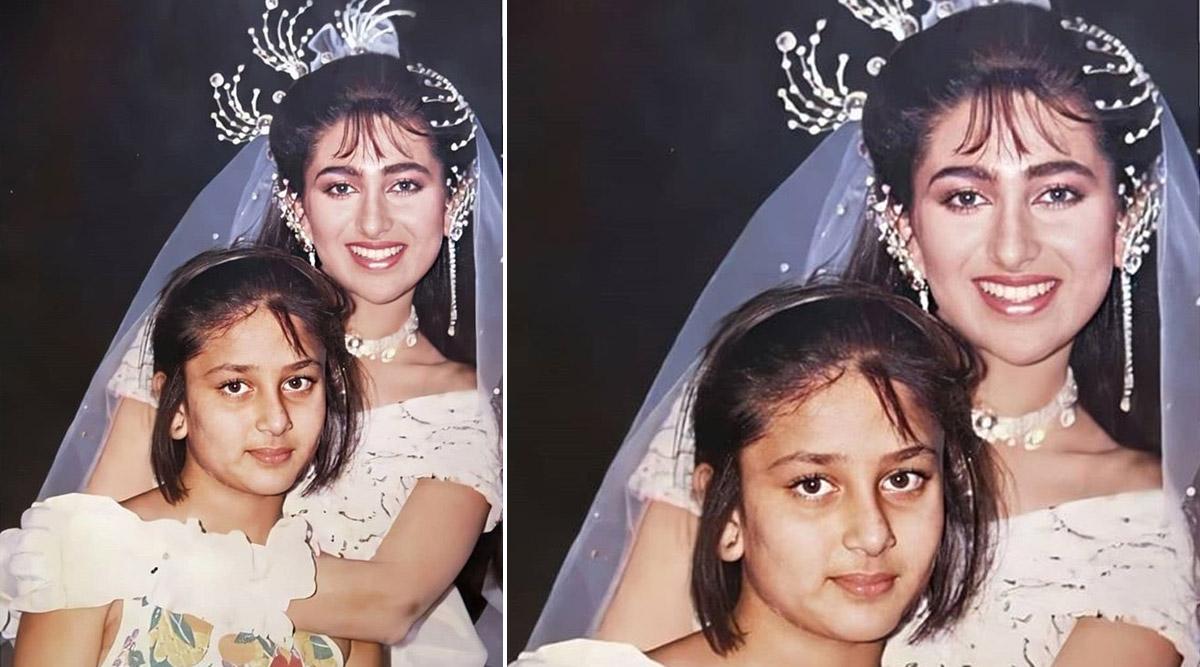 Kareena Kapoor Khan Shares an Adorable Childhood Pic With Sister Karisma Kapoor
