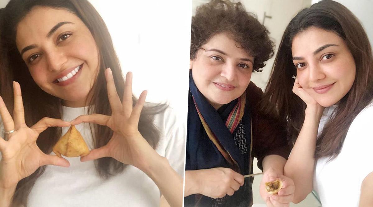 Lockdown Diaries: Kajal Aggarwal Makes Khasta Samosas Using Her Mom's Recipe (View Pics)