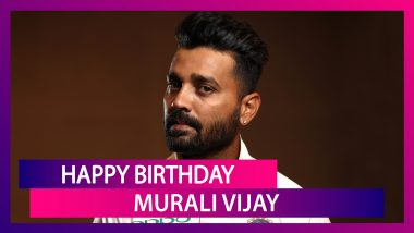 Murali Vijay Birthday Special: Things To Know About Indian Batsman