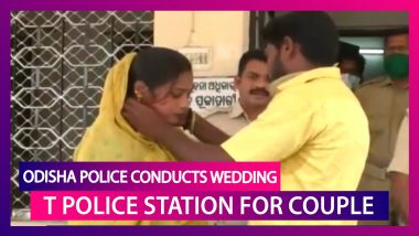 India Lockdown: Odisha Police Help Couple Get Married At Police Station Amid Social Distancing Norms