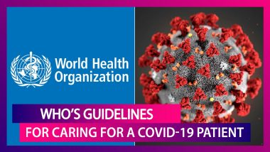 WHO Issues Guidelines On How To Care For A COVID-19 Patient At Home Amid Global Pandemic