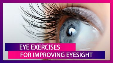 Easy Eye Exercises To Improve Eyesight: Prevention Of Blindness Week 2020