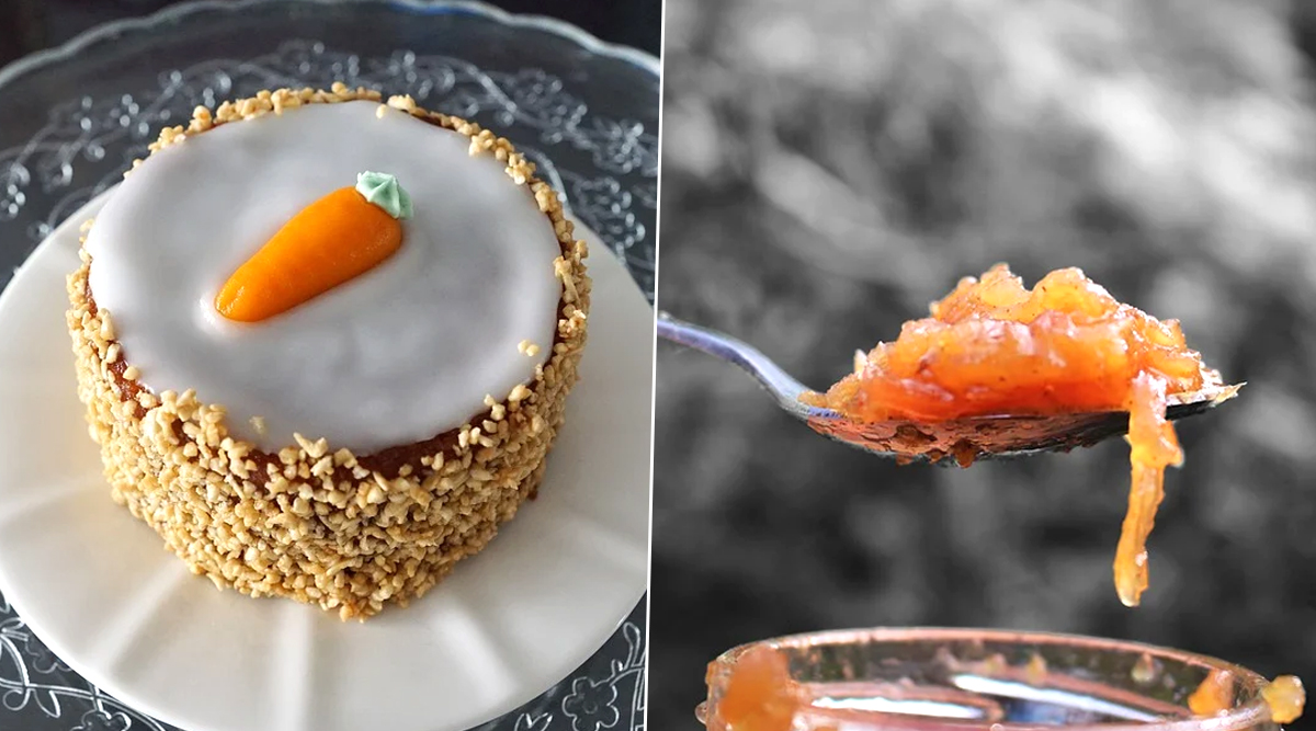 International Carrot Day 2020: From Easy Carrot Cake to Gajar Ka Halwa, Delicious Recipes You Can Try at Home During Lockdown