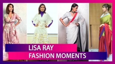 Birthday Girl Lisa Ray Is Happy About The Lockdown! And We Are Happy Evoking Her Fashion File Today