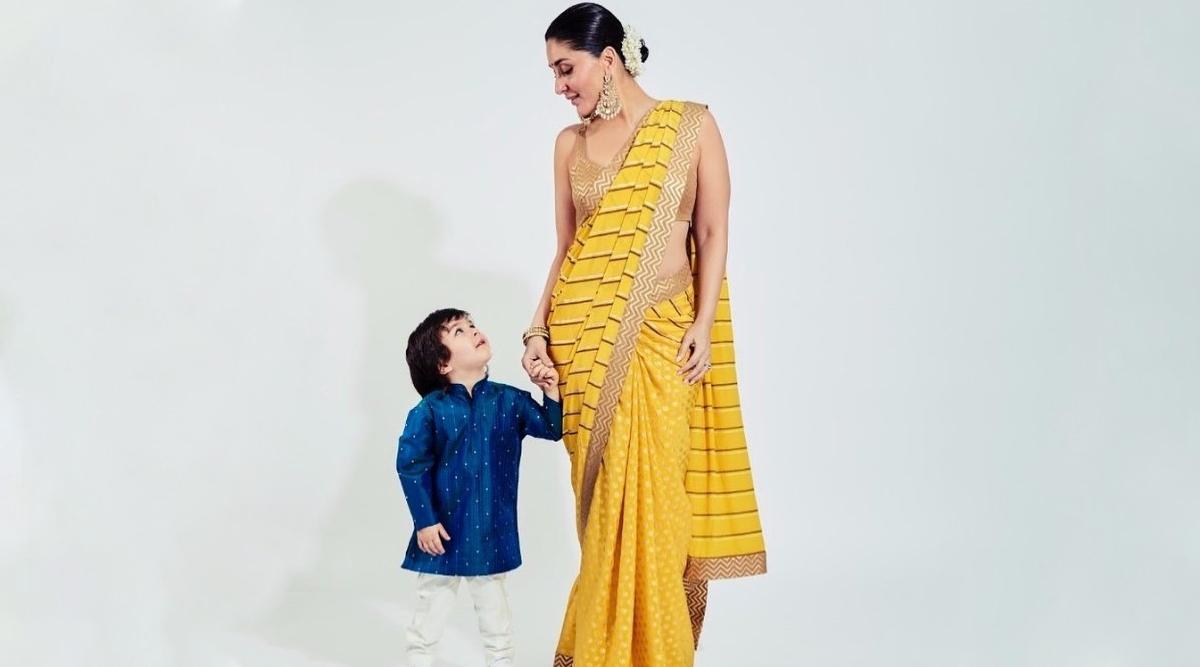 Kareena Kapoor Khan Wears Pasta Jewellery Made by Son Taimur (View Pic)